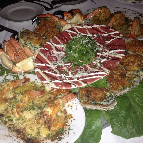 Appetizer Platter - New York Prime Steakhouse - Myrtle Beach, Myrtle Beach, SC