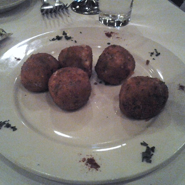 rice balls - Grotta Azzurra, New York, NY