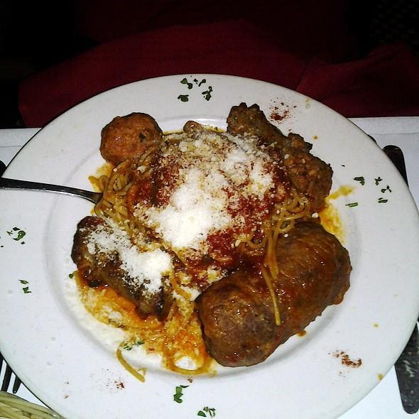Braciole, Sausage & Meatball Special - Grotta Azzurra, New York, NY