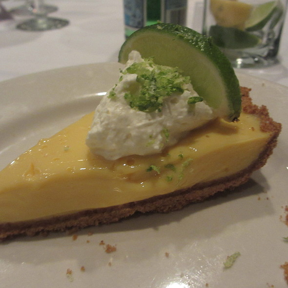 Key Lime Pie Fruit Dessert - Morton's The Steakhouse - Schaumburg, Schaumburg, IL