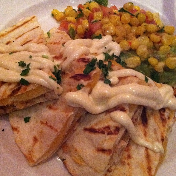 Bbq Chicken And Cheese Quesadilla - Beacon Bar and Grill, Washington, DC