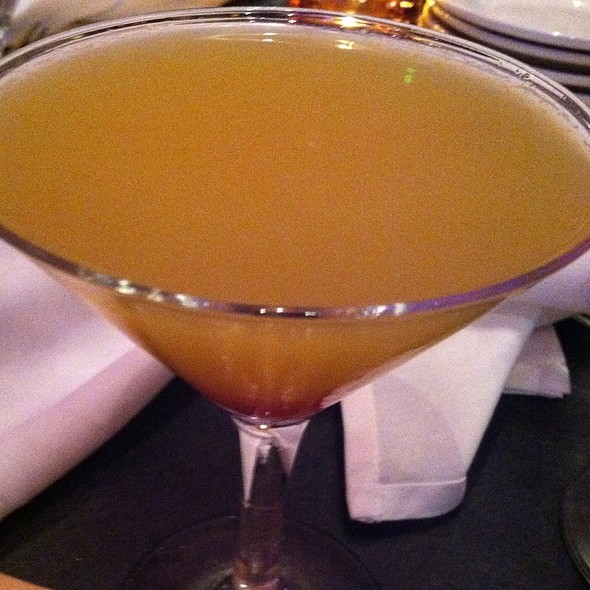 Peach martini - Beacon Bar and Grill, Washington, DC