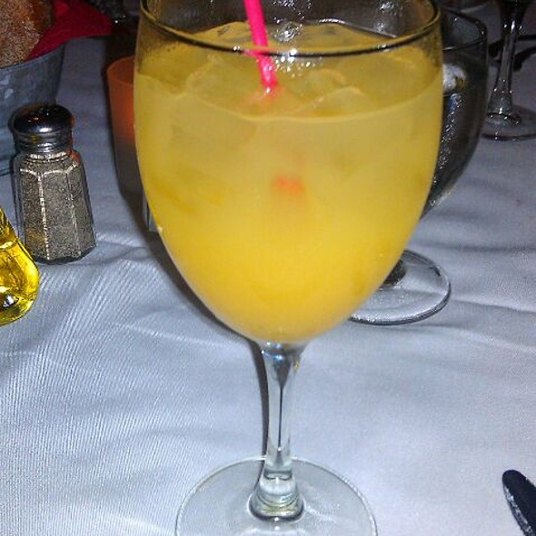 Pineapple Juice - Rosie's Bistro Italiano, Bronxville, NY
