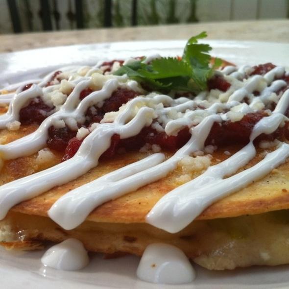 Antigua Quesadilla - Tommy Bahama Restaurant & Bar - The Woodlands, The Woodlands, TX