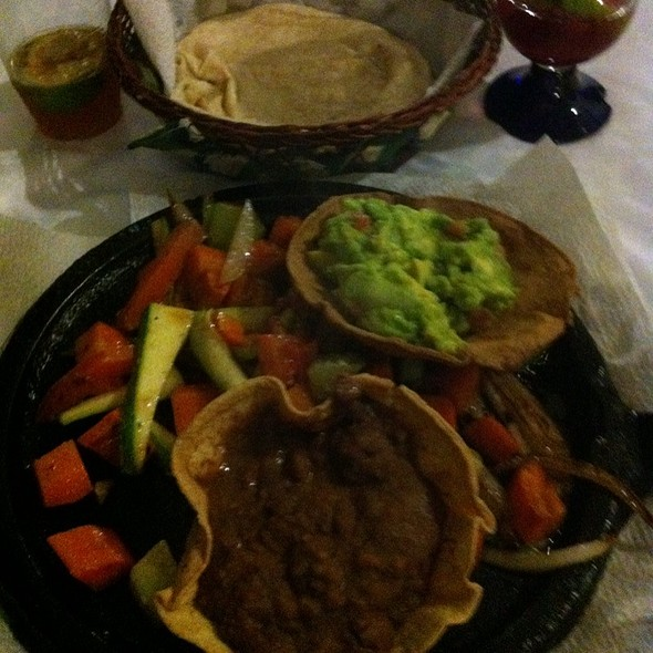 Vegetarian Fajitas - Casa Mission - Cozumel, Cozumel, ROO