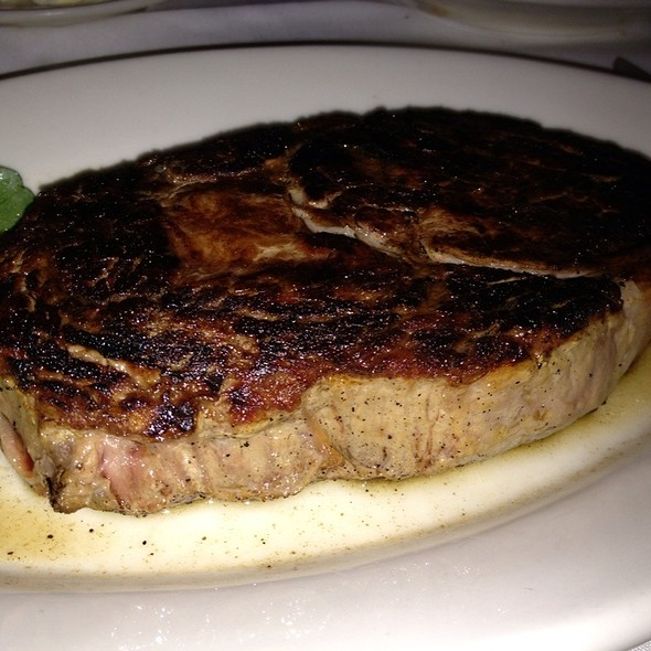 Center-Cut Prime Ribeye - Morton's The Steakhouse - Boston Seaport, Boston, MA
