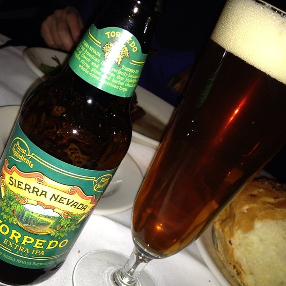 Sierra Nevada Torpedo Extra IPA - Morton's The Steakhouse - Boston Seaport, Boston, MA