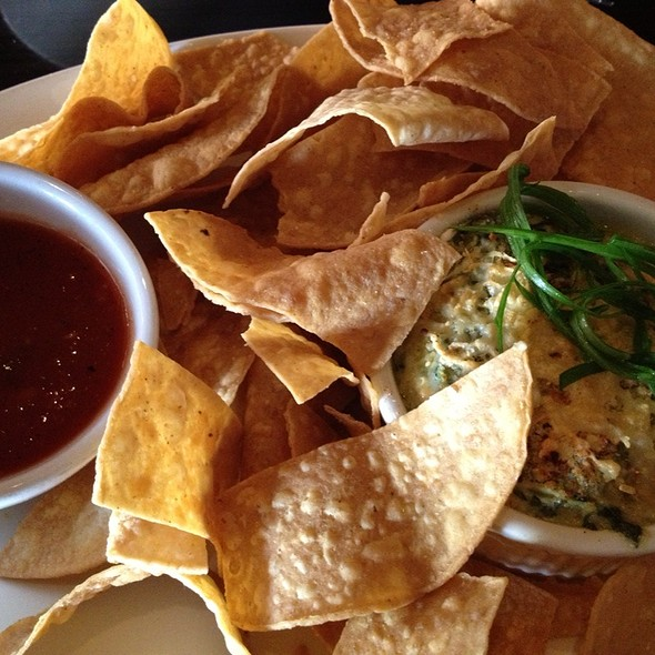 Spinach And Artichoke Dip - JT Schmid's Restaurant & Brewery - Tustin, Tustin, CA