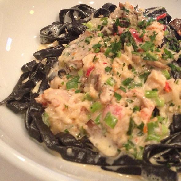 Fettucini with Lobster Sauce - Biaggi's - Bloomington, Bloomington, IL