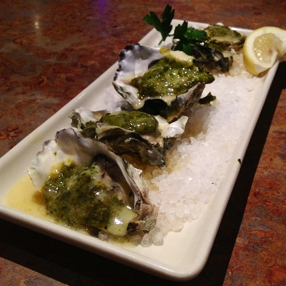 Baked Oysters - Matts' Rotisserie & Oyster Lounge, Redmond, WA