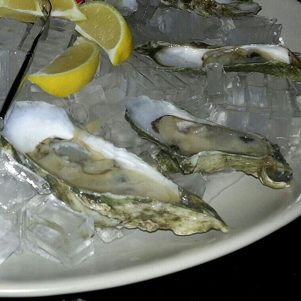 Mackay Local Oysters.  - ELA'S On the Water, Hilton Head Island, SC