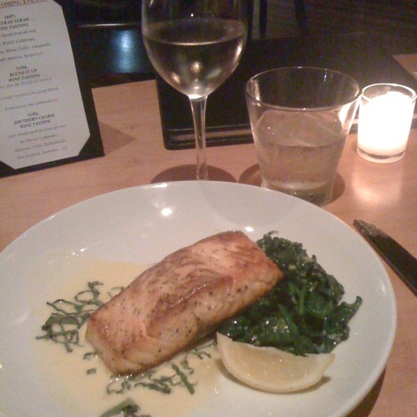Pan Seared Salmon  - DOC Wine Bar - Lombard, Lombard, IL