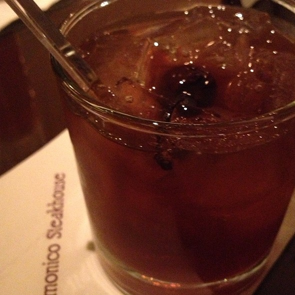 Bacon Amd Bourbon Manhattan - Delmonico Steakhouse, Las Vegas, NV