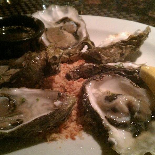 Oysters on the Half Shell - The Rieger, Kansas City, MO