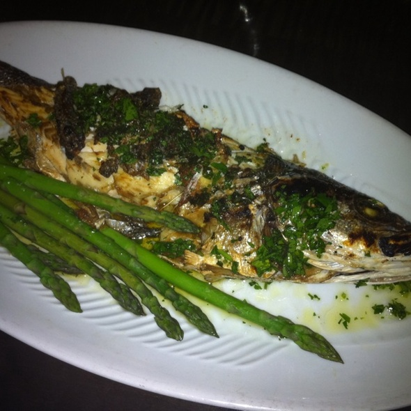 Grilled Branzino - Timo Restaurant & Bar, Sunny Isles Beach, FL