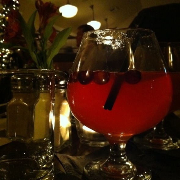 The Cranberry Toddy - Meriwether's Restaurant & Skyline Farm, Portland, OR