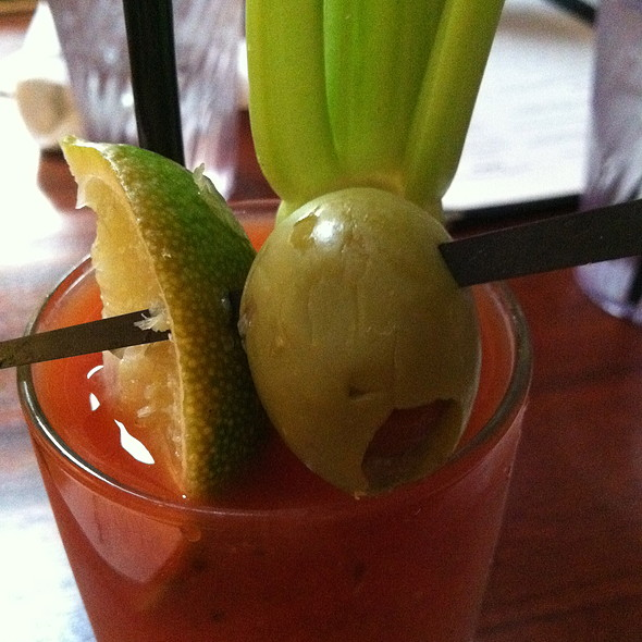 Bloody Mary - Hyde Park Bar & Grill - Duval, Austin, TX