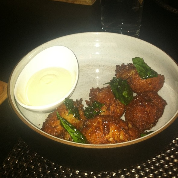 Crab Hush Puppies - The Dorrance, Providence, RI