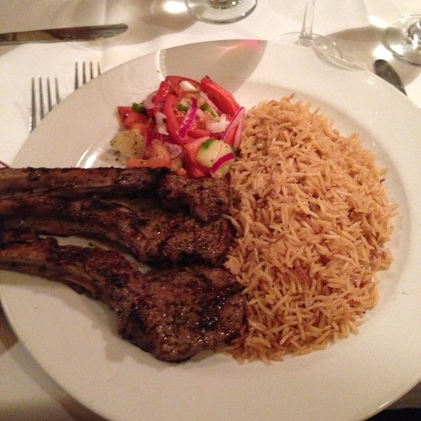 Chowpan (Half Rack of Lamb) - The Helmand Restaurant, Baltimore, MD