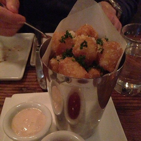 Truffle Tator Tots - Orchid Bar Kitchen, Los Angeles, CA
