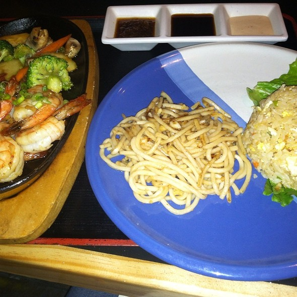 Hibachi Shrimp - Oishi Japanese Restaurant, Orlando, FL