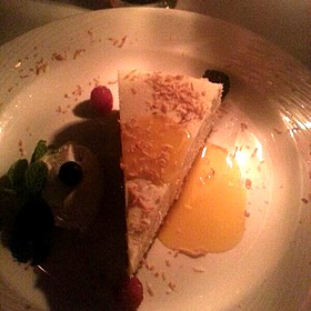 Coconut Cheesecake - The Little Door, Los Angeles, CA