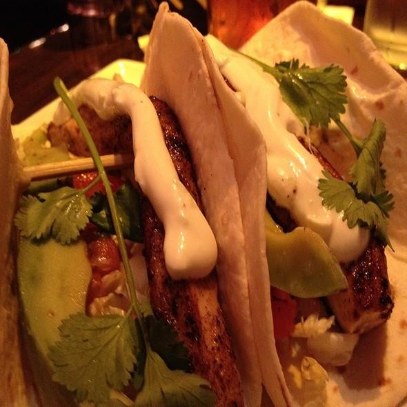 fish tacos - Datz, Tampa, FL