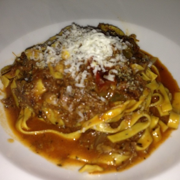 Homemade Pappardelle with Braised Oxtail Ragu - MesaMar, Coral Gables, FL