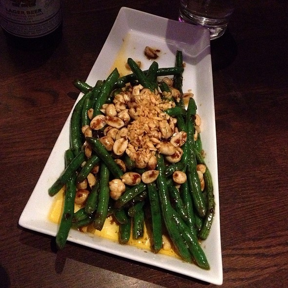 Kung Pao Green Beans - Suzy Wong's House of Yum, Nashville, TN