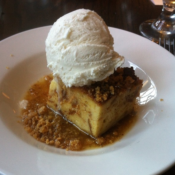 Maple Bread Pudding - Scarlet Oak Tavern, Hingham, MA