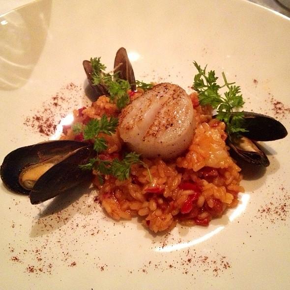 Seafood Paella Risotto - Bistango, Irvine, CA