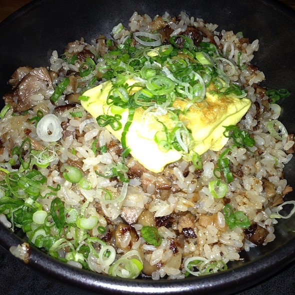 Oxtail Fried Rice - Blue Ribbon Sushi Bar, New York, NY