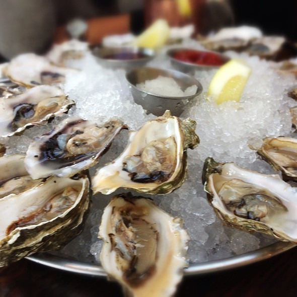 Oysters on the Half Shell - Mission Rock Resort, San Francisco, CA