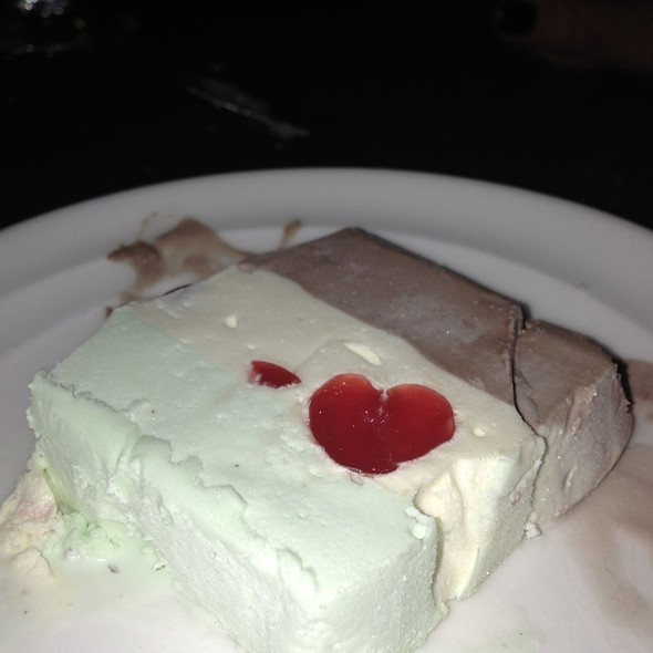 Spumoni and Bavarian Mint Gelato - Steven Lelli's on the Green, Farmington, MI