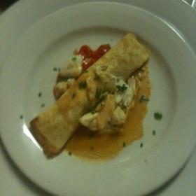 Seafood Crepe - Michaels Restaurant, Key West, FL