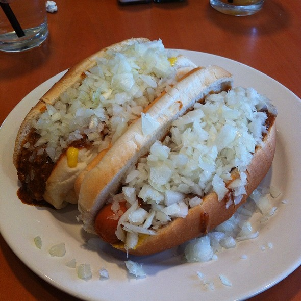 Hot Dogs With Everything - Harry's Main Street Grille, Westminster, MD
