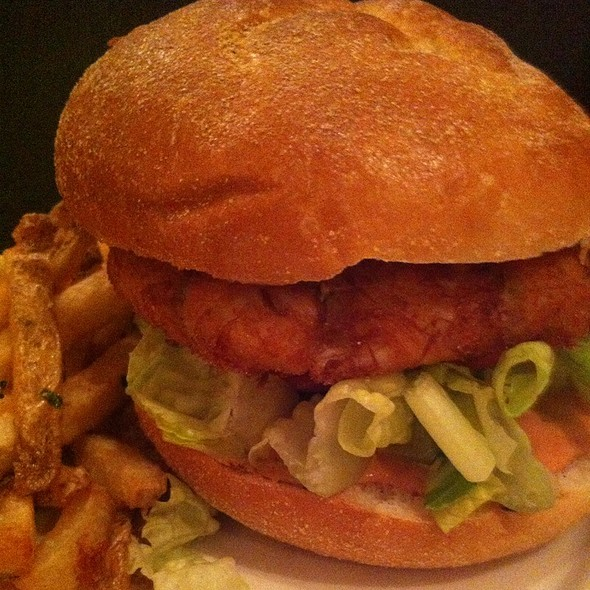Crab Cake Sandwich - River Grille, Easton, PA