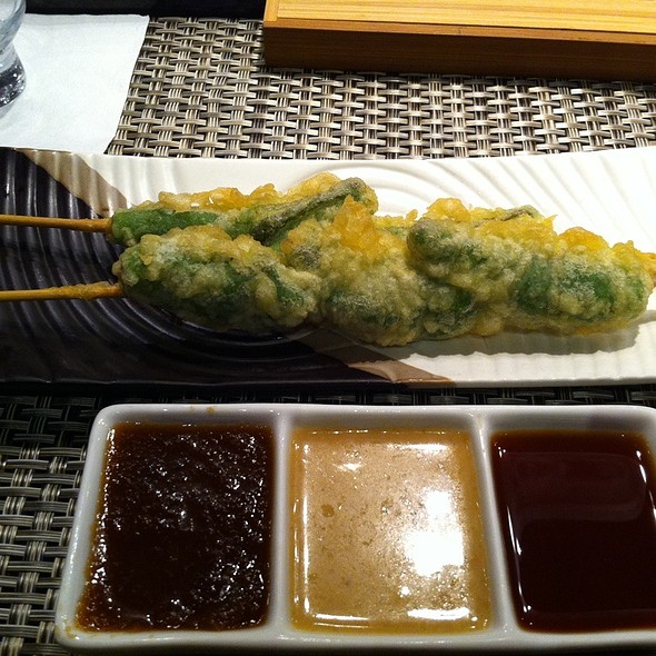 Tempura Shishito Peppers - Edoko Sushi, Frisco, TX