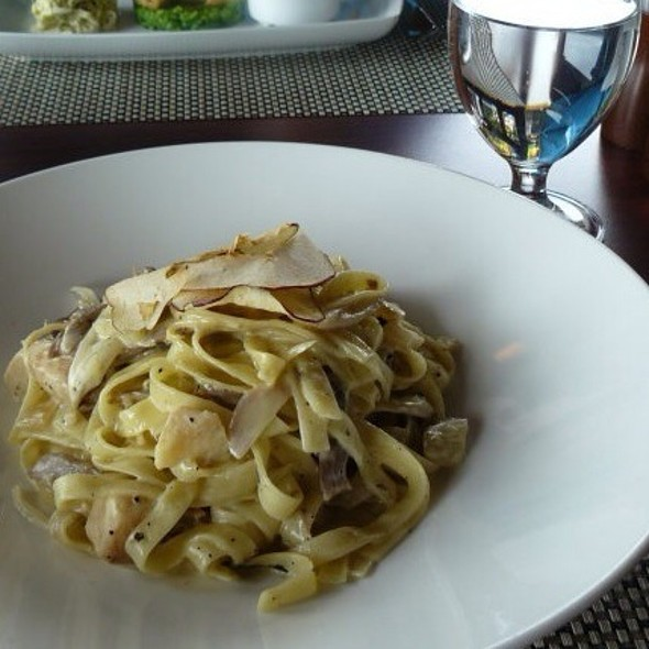 Duck Confit Tagliatelle - Quails' Gate Estate Winery - Old Vines Restaurant, Kelowna, BC