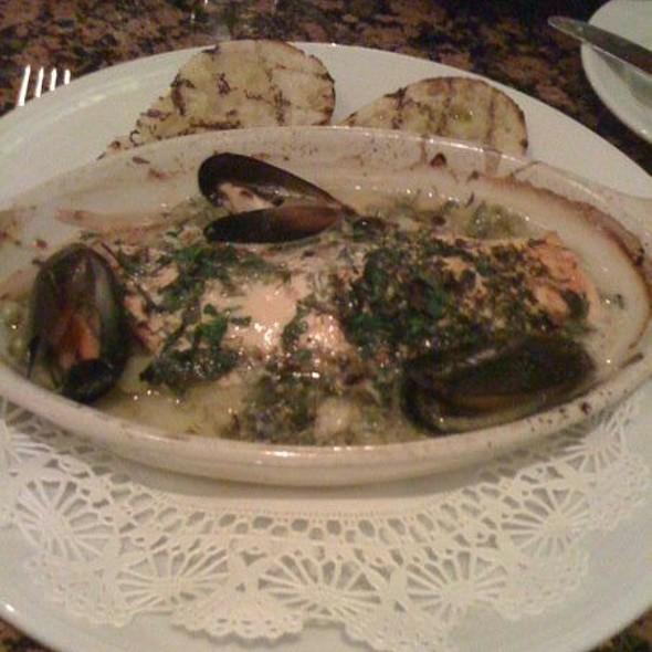 Salmon Cioppino - New Yorker Restaurant, Salt Lake City, UT