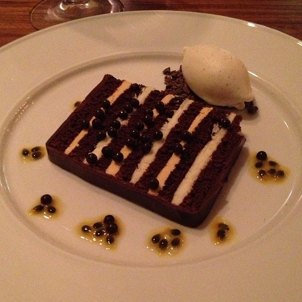 Torta al Cioccolato - Frasca Food and Wine, Boulder, CO