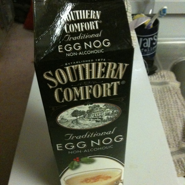 Egg Nog Using Heavy Cream: Southern Comfort Egg Nog