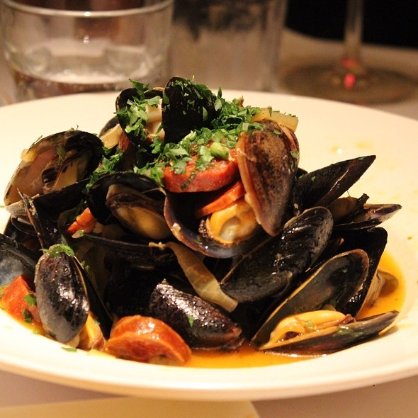 Mussels in White Wine Sauce - Scala's Bistro, San Francisco, CA