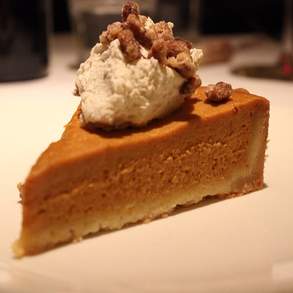 Pumpkin Pie - Scala's Bistro, San Francisco, CA