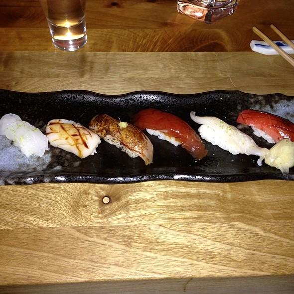 Silver Shrimp, Hotate, Seared Madai, Tuna, Giant Clam, Toro - ShinBay, Scottsdale, AZ