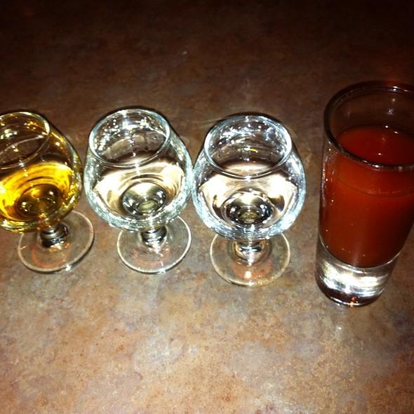 flight of tequila - El Palomar - Santa Cruz, Santa Cruz, CA