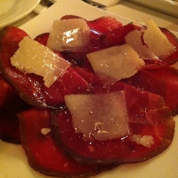Bresaola With Parmesan - Piccola Cucina Enoteca - Prince St., New York, NY