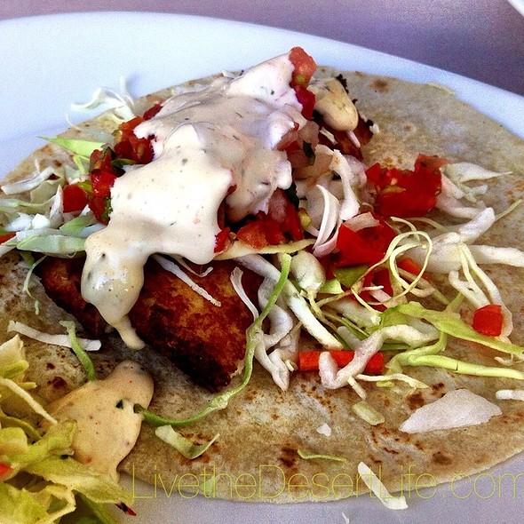 fish tacos - Solano's Bistro in Old Town La Quinta, La Quinta, CA