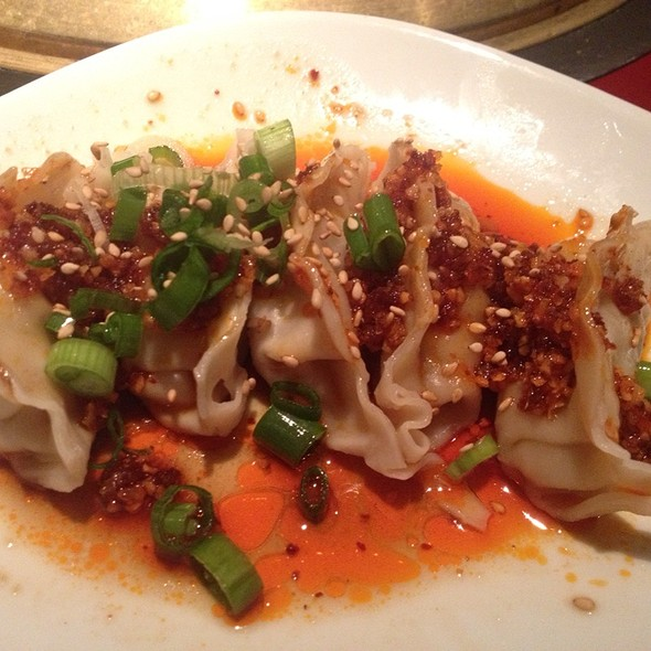 Spicy Chili Dumplings - Gyu-Kaku - Tustin, Tustin, CA