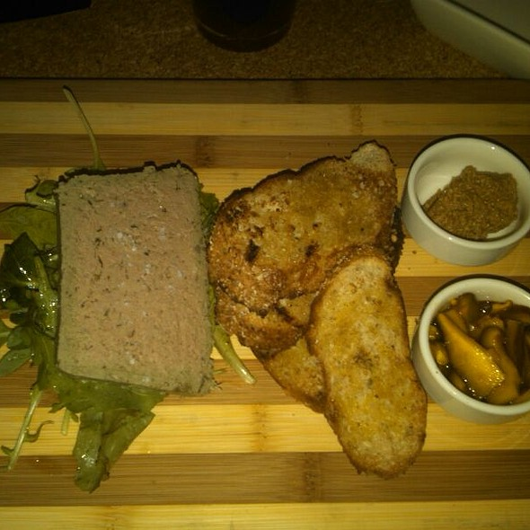 Duck Paté - District Kitchen, Washington, DC